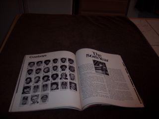 1976 Superbowl x Program Dallas Cowboys vs Pittsburgh Steelers NFL