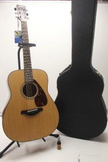 As Is Yamaha FG700S Music Instrument Acoustic Guitar and Hard Case