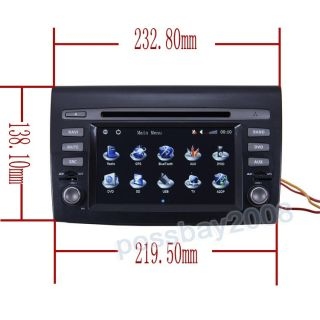 Brava Car GPS Navigation Bluetooth iPod Radio MP3 TV DVD Player