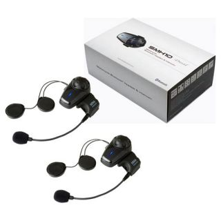 New Sena SMH10 Bluetooth Motorcycle Intercom Headset Dual