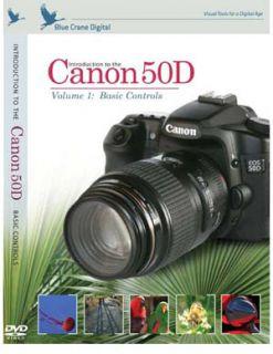 Blue Crane Canon 50D Training Video Instructional DVD