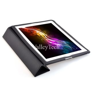 iPad 2 iPad 3 Smart Cover Magnetic Case Stand Black SC Protector