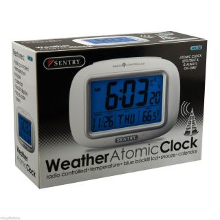 Sentry Atomic Digital Compact Alarm Clock ATC30 12330