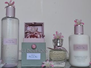 Victoria Secret Parfums Intimes Cashmere Lace Satin Silk Perfume