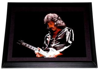 Black Sabbath Tony Iommi Gibson SG Live in Concert Framed Portrait
