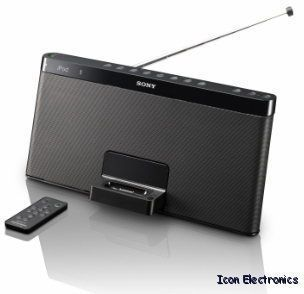 Sony RDPXF100IP Portable Speaker Radio iPod iPhone Dock RDP XF100IP