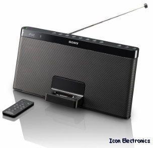 Sony RDPXF100IP Portable Speaker Radio iPod iPhone Dock RDP XF100IP