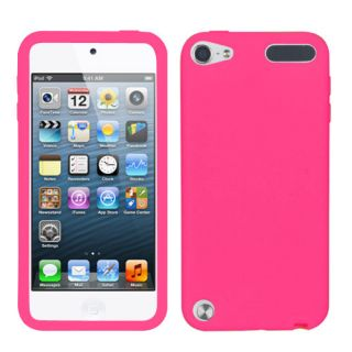 APPLE iPod touch(5th gen) Soft Silicone Rubber Gel Skin Case Cover