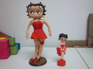 Betty Boop Doll Lot Bobble Head Figure Nodder