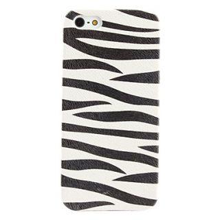 USD $ 3.69   Zebra Stripe Pattern Hard Case for iPhone 5 (Assorted