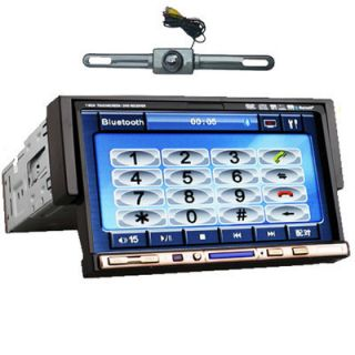 DIN Touch Screen Car Stereo Radio DVD Player Bluetooth iPod