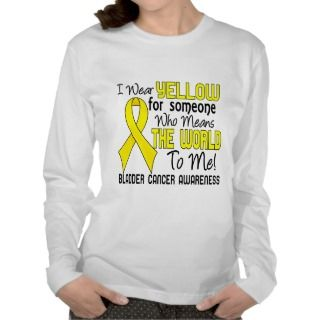 Means The World To Me 2 Bladder Cancer Tee Shirt