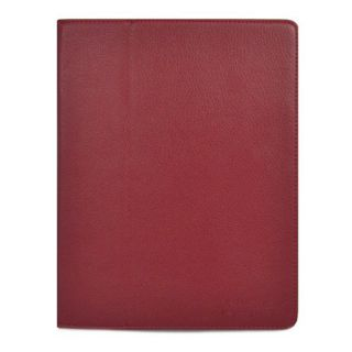 iPad 2 Smart Cover PU Leather Case Screen Protector Stylus Red