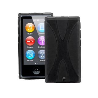 Hybrid TPU Protector Case for Apple iPod Nano 7th Generation (Black