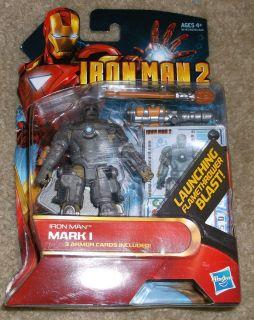 Iron Man 2 Mark 1 Action Figure 3 75 Movie Marvel Universe New