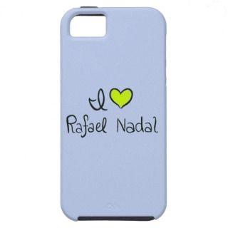 Rafael Nadal Love iPhone 5 Case Blue