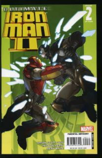 Ultimate Iron Man 2 1 5 Near Mint Complete Set 2008