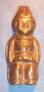 Iroquois Beer Brass Figural Indian Head Bar Advertising Bottle Opener