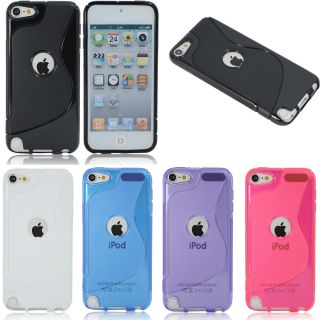 For New Apple iPod Touch 5 5th Gen Premium s Curve Gel TPU Case Cover