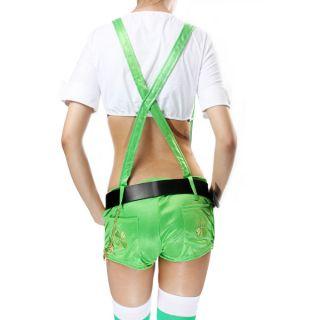 Irish Girl Stocking Embroidered Adult Suspender Belt L Size