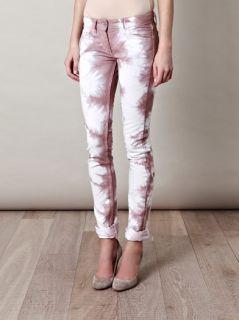 BNWT Isabel Marant Itzel Tie Dye Skinny Jeans Sz 38