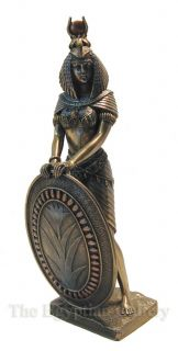 Isis Statue 11 Egyptian Pagan Mother Goddess Fantasy Art Figure Wicca