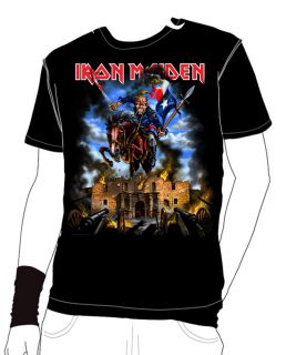 Iron Maiden Texas Shirt 2012