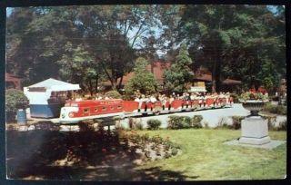 1950s Train Ride Bob Lo Island Park Amherstburg Ontario Canada