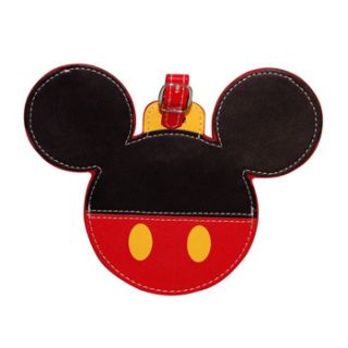 Disney Luggage Tags Mickey Mouse