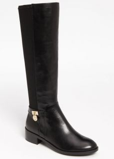 NIB Michael Kors Hamilton Stretch Knee High Boots Black 50 50 size 9 5