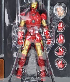 Revoltech 036 Sci Fi Iron Man Mark III Action Figure Marvel Kaiyodo 36