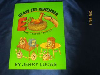Ready Set Remember by Jerry Lucas The Times Tables 1981