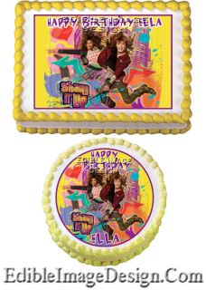 Edible Birthday Cake Party Image Cupcake Topper Supplies Favor