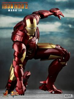 Hot Toys Ironman 2 Mark IV 4 Tony Stark Donut Ready