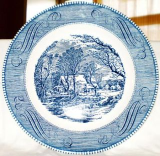 Currier Ives Collector Plate The Old Grist Mill Royal
