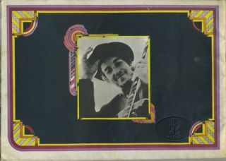 BOB DYLAN THE WHO ISLE OF WIGHT 1969 Tour Concert Program Programme