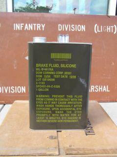 Gallon Dot 5 Silicone Brake Fluid Dow Corning New