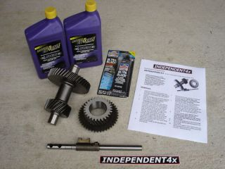 Isuzu AMIGO, Pickup Low range 31 Transfer case gear set Manual trans
