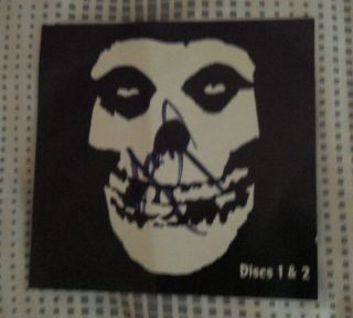 Set Box by Misfits U s Autographed by Jerry Only 017046752923