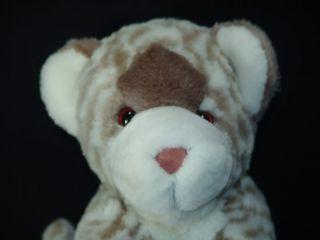 11 Plush Lifelike Baby Snow Leopard Cub Stuffed Animal