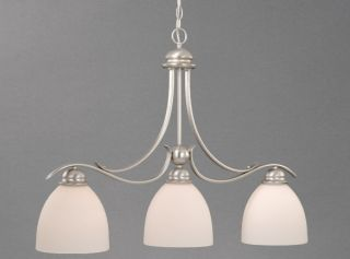 CEILING BRUSHED NICKEL AL PDD360BN VAXCEL LAMP KITCHEN ISLAND LIGHTING