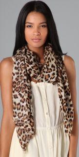 Tilo Leopard Print Scarf