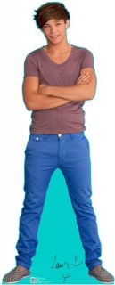 ONE DIRECTION LOUIS TOMLINSON LIFESIZE CARDBOARD STANDEE STAND UP