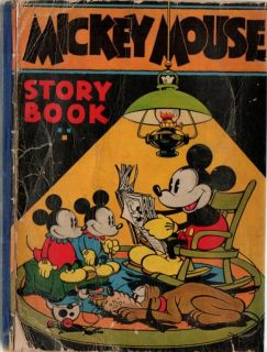 1931 Vintage Disney Mickey Mouse Story Book