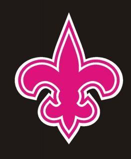 New Orleans Saints Cell iPod Pink Decal Sticker 1 1HH