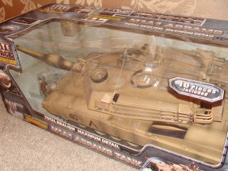 18 BBI Elite Force Blue Box M1A1 Abrams Tank Military Desert Vehicle