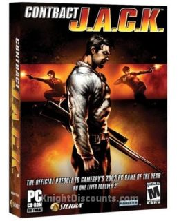 Contract J A C K Jack Sierra PC Shooter Game New Box X 020626720915