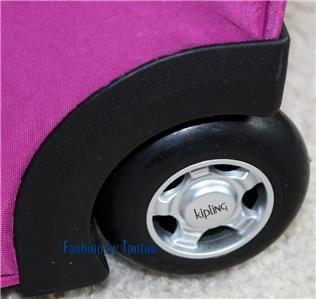 Kipling Las Vegas 24 Expandable Wheeled Luggage Spicy Purple