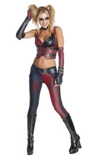 Batman Arkham City Secret Wishes Harley Quinn Adult Halloween Costume