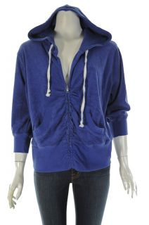 Miss Chievious Terry Cloth Zip Hoodie Womens 2
